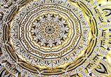 Golden Mandala drawing by Dino Tomic