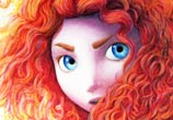 Merida from Brave by Dino Tomic