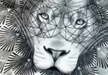 Ornament Lion drawing Dino Tomic