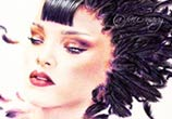 Ladyhawke Rihanna drawing by Fau Navy