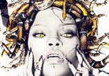 Medusa Rihanna color drawing by Fau Navy