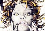 Medusa Rihanna color drawing by Fau Navy