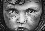 Titulo Little boy drawing by Garvel Art