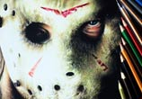 Jason Voorhees color drawing by Guilherme Silveira