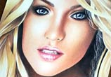 Portrait woman drawing by Guilherme Silveira