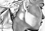 Khaleesi Mother of Dragons drawing by Helene Kupp