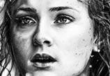 Sansa Stark drawing by Helene Kupp