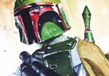 Boba Fett from Star Wars painting by Jonathan Knight Art