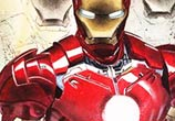 Iron Man painting by Jonathan Knight Art