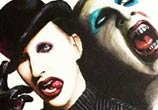 Marilyn Manson portraits painting by Jonathan Knight Art