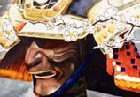 Samurai watercolor painting by Jonathan Knight Art