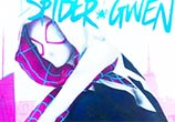 SpiderGwen color drawing by Jonathan Knight Art