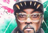 Will.i.Am portrait mixedmedia by Jonathan Knight Art