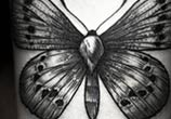 Butterfly dotwork tattoo by Kamil Czapiga