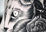 Ribs dotwork tattoo by Kamil Czapiga