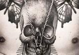 Chest piece tattoo by Kamil Czapiga