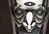 Portrait dotwork tattoo by Kamil Czapiga