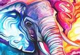 Cloud Walker color drawing by Katy Lipscomb Art