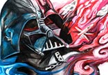 Darth Vader color drawing by Katy Lipscomb Art