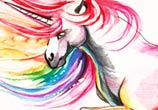 Unicor color drawing by Katy Lipscomb Art