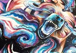 West Coast Roar painting by Katy Lipscomb Art
