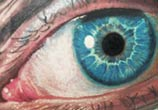 Blue Eye tattoo by Led Coult