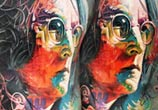 John Lennon tattoo by Led Coult