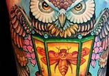 Own bee tattoo by Led Coult