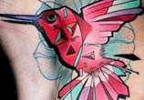 Bird tattoo tattoo by Lehel Nyeste