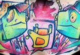 Chestpiece Cartoon tattoo by Lehel Nyeste