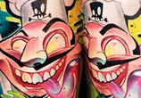 Crazy Chef tattoo by Lehel Nyeste