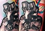DNA Heart tattoo by Lehel Nyeste