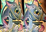 Magic Unicorn tattoo by Lehel Nyeste