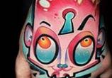 Rabbit hand tattoo by Lehel Nyeste