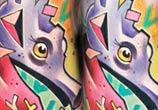 Seahorse tattoo by Lehel Nyeste