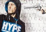 Hype karma Boy streetart by Lonac Art