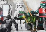 Where is my Batman streetart by Lonac Art