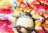 My neighbor Totoro 1 by Louise Terrier