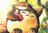 Totoro with child by Louise Terrier