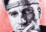 Dj Wich Portrait drawing by Lukas Lukero Art