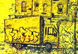 Ghetto drawing by Lukas Lukero Art