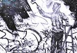 Ghetto wall pen drawing by Lukas Lukero Art