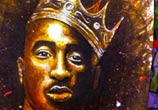Hip Hop King 2 Pac drawing by Lukas Lukero Art