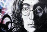 John Lenon streetart by Lukas Lukero Art