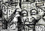 Town Faces marker drawing by Lukas Lukero Art