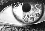 Black Eye 2 drawing by Maira Poli