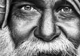 Old man drawing by Maira Poli