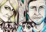 Love drawing by Mirik Bodliak