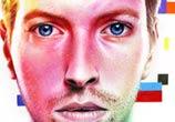 Coldplay, Chris Martin, drawing by Morgan Davidson