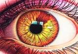 Red Eye drawing by Morgan Davidson